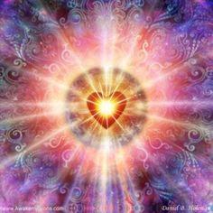 Divine Spark:  Light of the heart.
