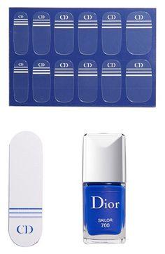 Dior 'Transatlantique - Vernis' Nail Enamel & Couture Stickers Duo