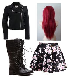 """Jen Ledger Inspired"" by emberwember ❤ liked on Polyvore"