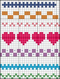 Terrific Pics Cross Stitch borders Suggestions Brain Clutter: Cross stitch pattern: Borders and things Cross Stitch Boarders, Cross Stitch Designs, Cross Stitching, Cross Stitch Embroidery, Embroidery Patterns, Easy Cross Stitch Patterns, Easy Patterns, Floral Embroidery, Hand Embroidery