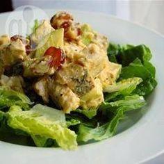 Fruchtiger Geflügelsalat @ de.allrecipes.com