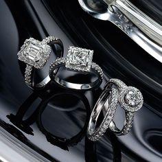 three 18k white gold diamond rings, & 18k white gold diamond eternity ring Eternity Ring Diamond, Diamond Rings, Somerset West, Luxury Jewelry, White Gold Diamonds, Fine Jewelry, Jewellery, Jewelry Collection, Seasons