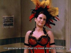 "M is for Mood Elevators. | The Alphabet According To Karen Walker Of ""Will & Grace"""
