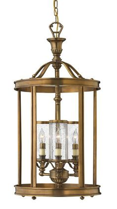 View the Hinkley Lighting H4184 3 Light Indoor Lantern Pendant from the Knickerbocker Collection at Build.com.