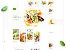 restaurant web ui design - Google Penelusuran Restaurant Website, Seafood Restaurant, Coffee Restaurants, Web Ui Design, Food Website, Photoshop Illustrator, Sea Food, Psd Templates, Google