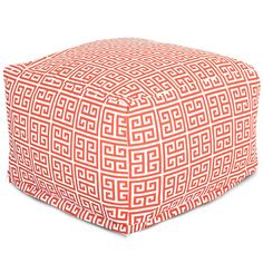 Majestic Home Products Towers Large Ottoman | AllModern