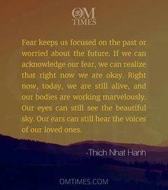 Fear is the enemy
