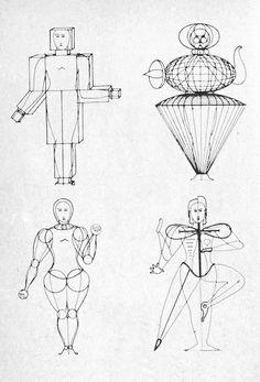 Triadic Ballet Sketch