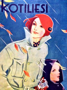 Another one of the wonderful vintage Kotiliesi magazines! This one is from 1938.