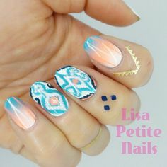 On-trend style for spring by @lisapetitenails.
