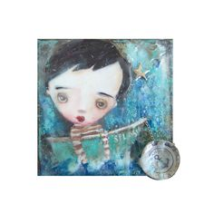 Show me your blues...................HAFAIR by RENEE TOUSIGNANT on Etsy
