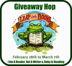 Leap into Books Giveaway HOP!  Family-friendly giveaway hop!  150+ participating blogs.  Kids welcome to participate at my Hop Spot.    Great prizes: Books, Gift Cards, T's, and Super Swag!    Enter today!
