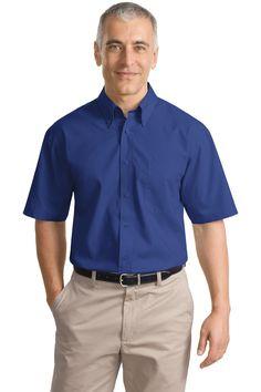 True to Size Apparel - Mens Short Sleeve Poplin Shirt, $20.98 (http://truetosizeapparel.com/mens-short-sleeve-poplin-shirt/)