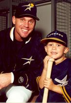 Craig Biggio - Great baseball player, great Houstonian and most important a very good person. This link is to the Sunshine Kids which is a non-profit dedicated to kids who are living with cancer.  Craig has supported the Sunshine Kids for over a decade.