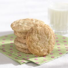 Snickerdoodles Recipe from Land O'Lakes - One of my many Holiday Cookie Recipes that I have made over and over. These always taste great!