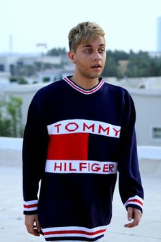 Vintage Tommy Hilfiger sweater from Paris.