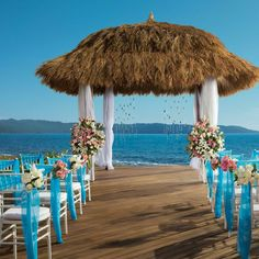 Secrets also has stunning wedding locations offering beach setups and an incredible ocean front wedding gazebo.