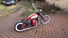Gonna Try this Mini Chopper Motorcycle, Mini Motorbike, Bobber Bikes, Motorcycles, Bike Wagon, Diy Go Kart, Drift Trike, Lowrider Bike, Quad Bike