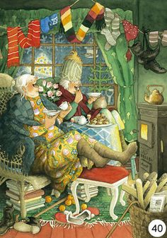 Inge Look Postcards 40
