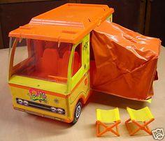 Barbie Camper 1973 I loved this.
