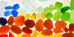 How the Many Types of Sea Glass Get Their Colors