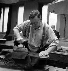 Men can't iron my arse. -Henry Poole 1944