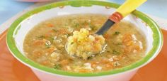 Pyszna zupa z soczewicy, idealna dla malucha Baby Food Recipes, Cheeseburger Chowder