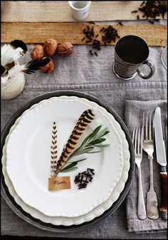 In The Process Of Designing My Thanksgiving Table