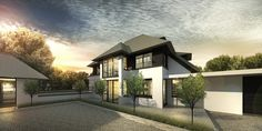 DENOLDERVLEUGELS Architects & Associates / Modern klassieke rietgedekte villa Belgie