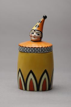 The Marilyn Derrin Art Deco Noritake Auction Prices - 230 Auction Price Results - A. Kitsch, Circus Crafts, Pierrot Clown, Ceramic Boxes, Half Dolls, Art Deco Furniture, Vintage Vanity, Noritake, Antique China