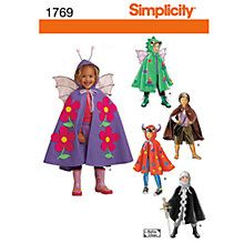 Buy Simplicity Costume Dressmaking Leaflet, 1769, A Online at johnlewis.com