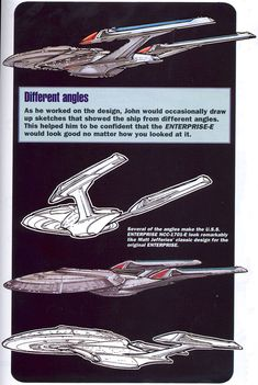 FSD: Starship Concept Art - Designing the USS Enterprise NCC-1701-E