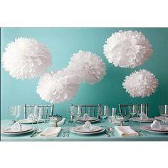 Martha Stewart Crafts Pom Poms, White, 2 Sizes