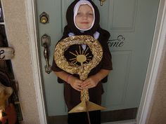 St. Clare of Assisi All Saints Day costume