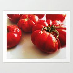 Tomato II Art Print  - $20.00