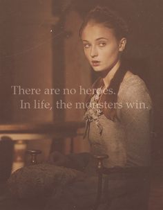 Wanted to reach through the book and hug her when she thought this... Sansa Stark, Game of Thrones
