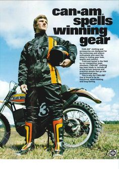 Can-am spells wining gear