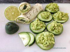 My Casual Brunch: Wrap de guacamole com queijo creme light e rodelas...