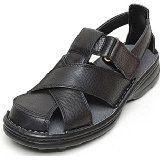 Amazon.com: Dockers Men's Melton Briar Leather Sandals 10 D(M) US: Shoes