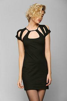 Motel Neema Cutout Bodycon Dress