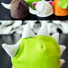 Free fleece hat pattern easy Fleece Fun
