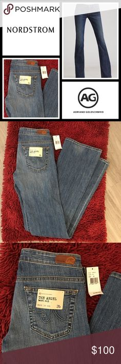 "AG ""the angel"" 😇 bootcut jeans NWT New with tags these jeans are so soft and comfortable and unfortunately they're not my size - Adriano Goldschmied brand from Nordstrom - 33"" inseam and does have a little stretch AG Adriano Goldschmied Jeans Boot Cut"