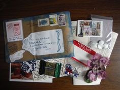 Hand-delivered snail mail for my friend Shawna.