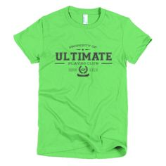 PLAYRS Club Women's Ultimate T-Shirt – Dark