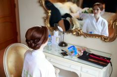 Inner Beauty Weddings Vintage Bride Hair & Make Up Bridal Hair Bridal Make Up