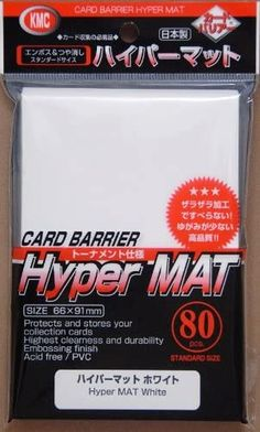 66x91mm 80 BLACK Matte CARD Sleeves Deck PROTECTORS Standard Size Pokemon MTG