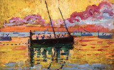 Artist- Paul Signac   #painting