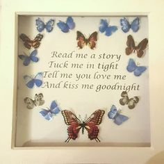 Check out this item in my Etsy shop https://www.etsy.com/uk/listing/512006713/nursery-frame-quote-gift-present-craft