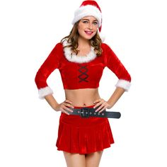 sexy suit womens Santa