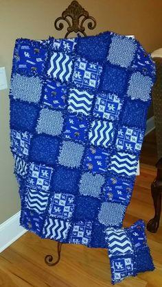 Quilted University of Kentucky Wildcats Stadium Fleece Blanket ... : university of kentucky quilt - Adamdwight.com